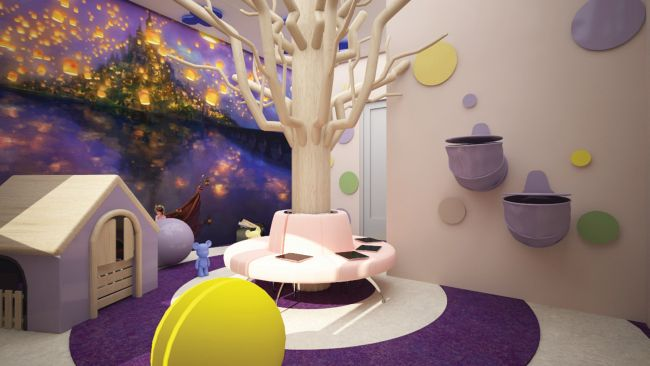 """Interior design for the """"Small Heroes"""" project for MBAL Pirogov relies on Mirage Group materials"""