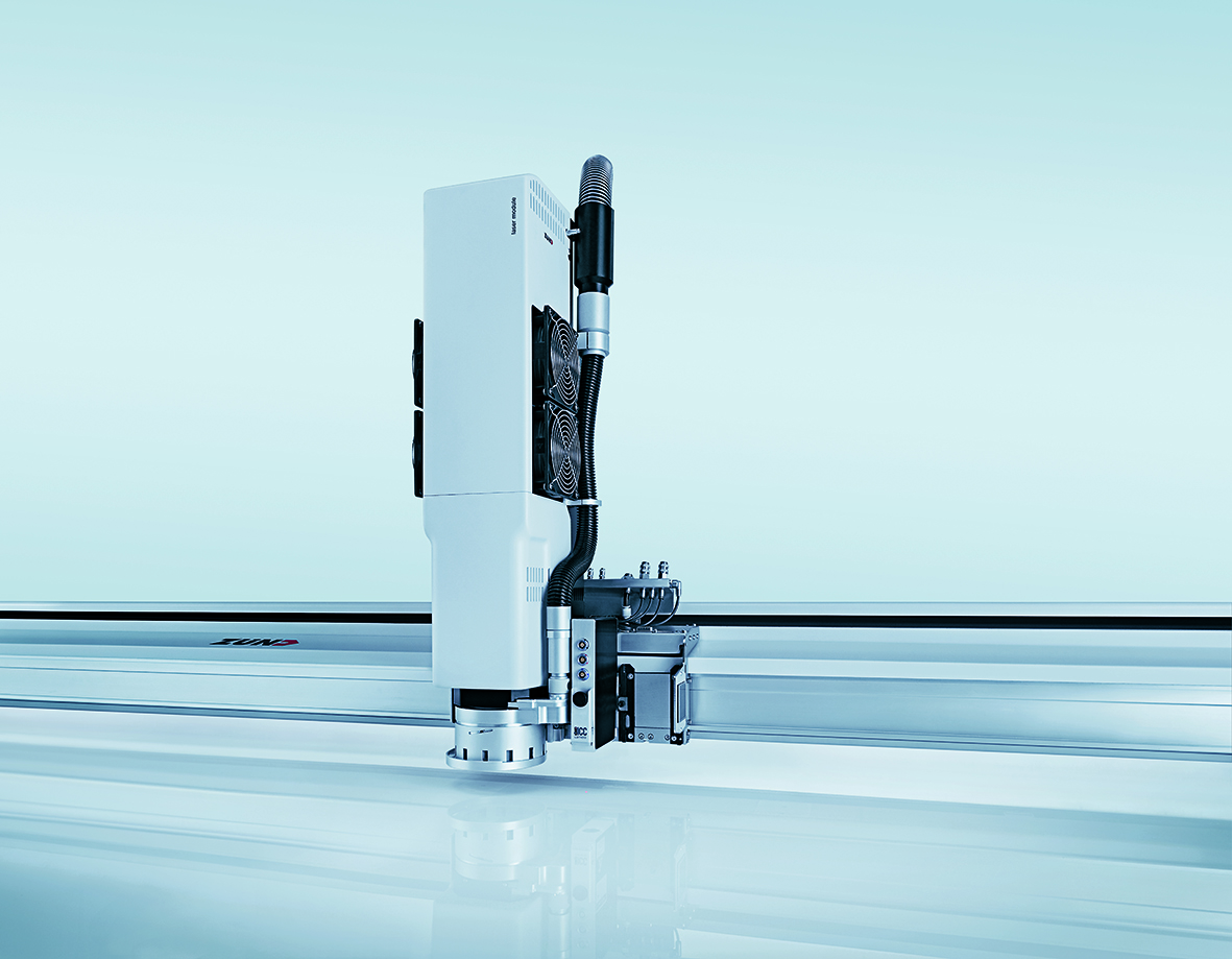 Zünd обяви пускането на новия Лазерен Модул LM 100W - изрязване и запечатване в един ефективен процес