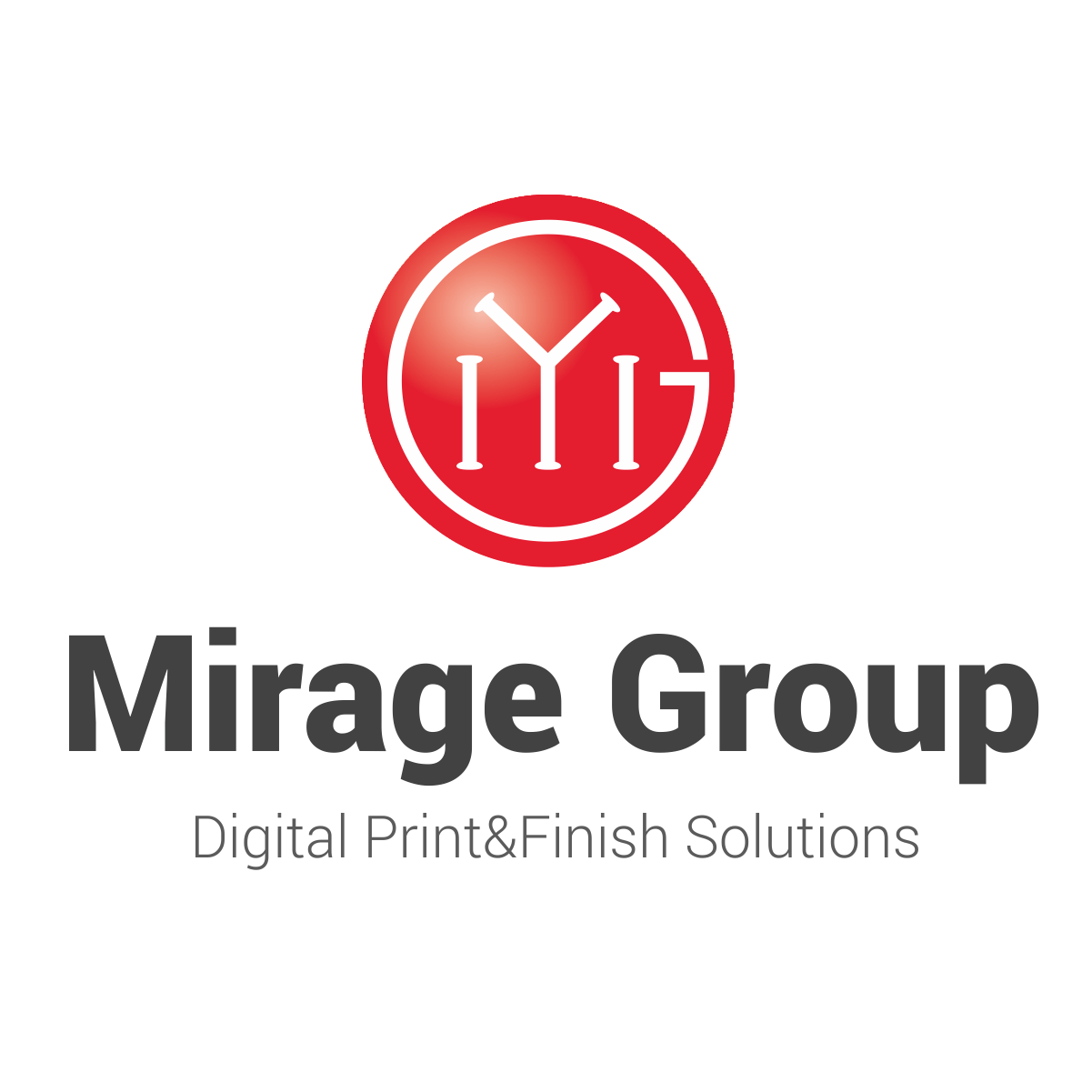 Mirage Group with a brand new logo